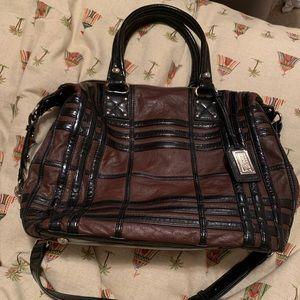 Badgley Mishka American Glamour Leather Tote